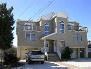 LBI NJ -7 Houses From Beach - 4 Bedroom 2 1/2 Bath Contemporary home