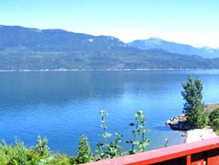 Directly Across the Road From Ainsworth Hot Springs, Overlooking Kootenay Lake.