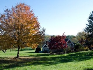 1700's stone farm house with scenic views of the Hudson Valley