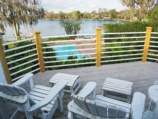 Lakefront Paradise Guest Apartment Winter Springs, Oviedo, Casselberry, W. Park