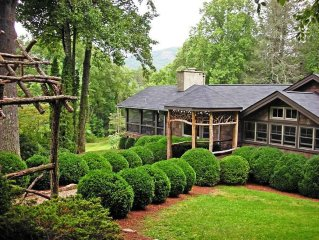 Historic Home, Renovated, on 3 acres, In the township of Cashiers