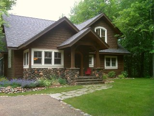 Story Book Vintage Northwoods Lodge Loaded With Charm & Comfort