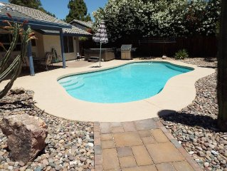 VERY CLEAN, NEWLY UPDATED, 3Bd 2ba SINGLE STORY HOME IN CHANDLER W/ POOL & SPA