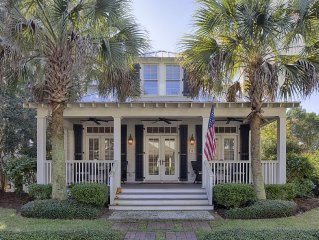 Palmetto Bluff Village Home with Golf Cart & Golf Access; Close to Chapel & Inn