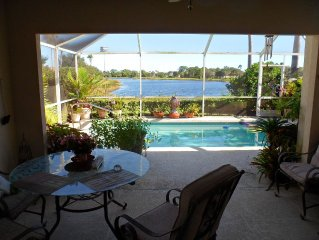 Enjoy Golf and Tennis in a Pet friendly home in gated Lost Lake Village