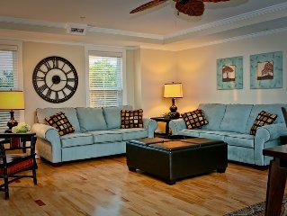 spacious 3 b/2 b condo with pool, sleeps 8- 10/ just steps to beach