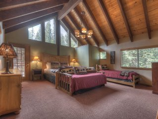 Kings Beach 5 KING BEDS,Hot tub, Pool Table, Views, Hiking trails, on meadow