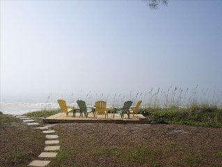 Beachfront Cottage -Ground Floor, Family Friendly!