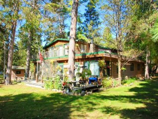 'The Family Getaway' on beautiful Potato Lake outside of perfect Park Rapids, MN