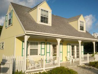 2 bedroom 2 bath cottage steps from the Atlantic Ocean