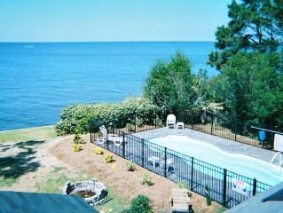 Gorgeous Soundfront 5 Bdrm, Heated Pool and Dock,