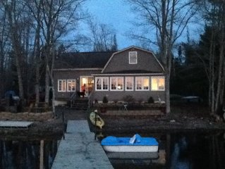 Beautiful Cottage Right On the Waters Edge of Chemo Pond