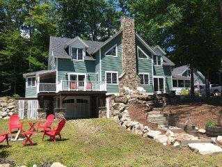Luxurious,  4 Season Waterfront Home On Long Lake, Sebago Lake Regions In Maine
