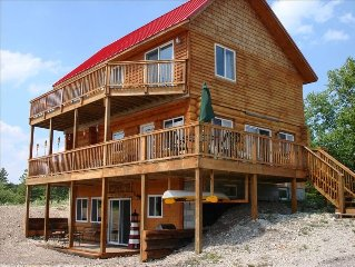 Gorgeous 3 Story Island Waterfront Lake Huron Home, Boats