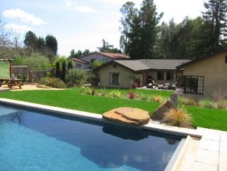 Enjoy A Modern Hacienda In The Heart Of Sonoma!