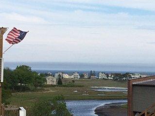 Great Off Season rental !!  3 BR w Views of Ogunquit River estuary and Beach