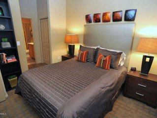 Two bedroom foothills condo close to U of A. Superbly furnished!!!!