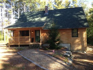 Quiet Summer Getaway!  Spacious Cabin - Close to Summer and Winter Fun