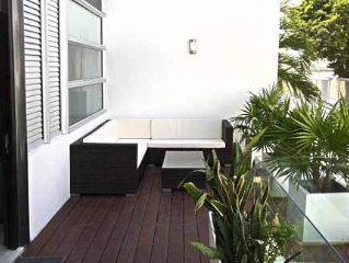 PARADISE in PLAYA; Luxury condo with Rooftop pool 2bd/ 2.5 bath, Family Friendly