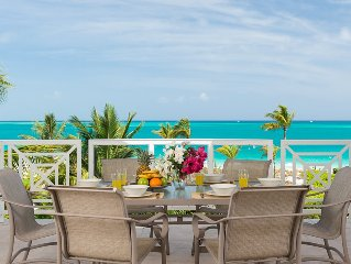 Penthouse 3 Bedroom plus bonus 4th bedroom Beach Front Condo on Grace Bay Beach