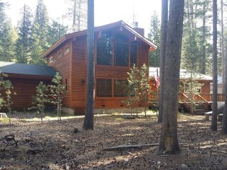 Luxurious Two Story Cedar Built Home In The High Sierras