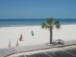 Gulf Front! Beautiful Sunset Beach - Heated Pool!