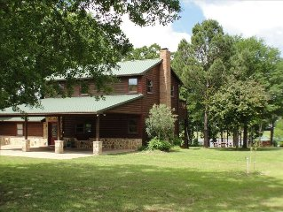 Exquisite Lake Front with Private Boat House/Boat Ramp!