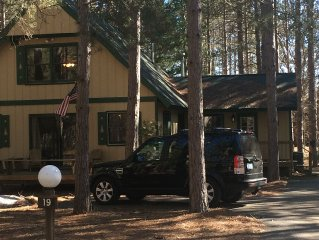 Beautiful Vacation Home In Crystal Mountain  Resort. Walk To Skiing & Dining