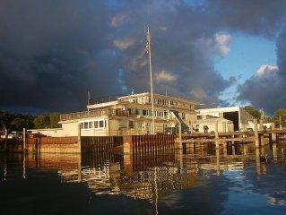 Penthouse at Yacht Basin Marina w/ Spectacular Lake Macatawa Views