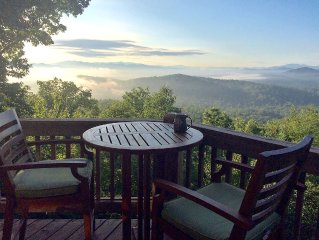 Best Sunrise View In Georgia, 3 Fireplaces, Unbelievably Peaceful
