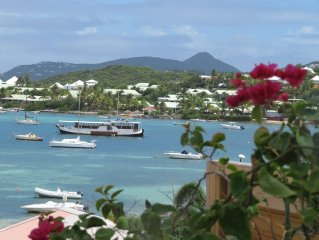 Villa Noa : Seaview Over St Barts, Pinel Island and Orient Bay (6 persons)