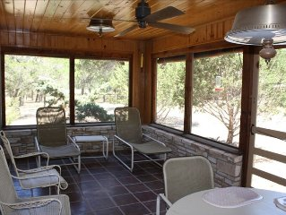 Riverfront Hideaway in Hunt, Tx, Cypress-Lined Guadalupe River Access