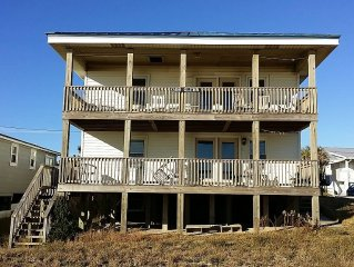 Gone Fishing  Ocean Front!!! Upstairs Unit