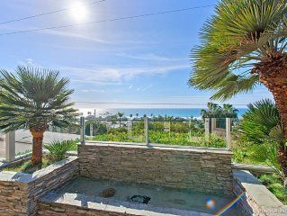 Perfect Vacation House, Panaramic Ocean Views, Easy Walk To Beach & Plaza
