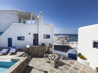 Mykonos  Supreme Town House With a View - 2 Bedrooms