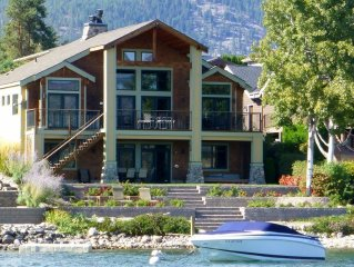 Stunning Waterfront Home on Lake Chelan at Wapato Point