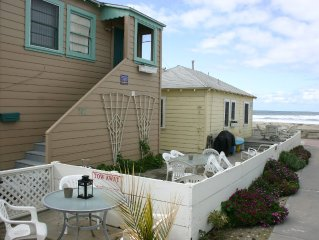 Cozy Ocean Front Beach Cottages- 4 Cottages Available- Sleeps up to 20 People