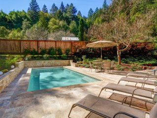 Wine Country Hideaway: 4BR, 2200Sf Rural Home With Solar-Heated Swimming Pool
