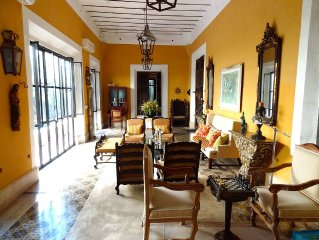 Luxury Historic Home with Pool in Colonia Santiago - Centro