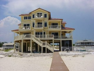 Beachfront.  POOL!  7 Bedrooms, 7.5 bathrooms  Beautifully Decorated