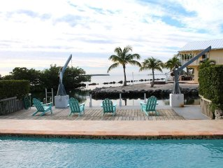 DIRECT OCEAN FRONT JEWEL, Private Heated Pool,70 Ft Dock,Best Deal Around!!!!!