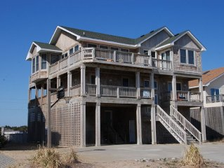 Beach Treasure -8 Bedrooms (8.5 baths) Semi-Oceanfront- 5/27 &6/3 now $500 off!
