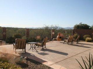Spectacular Dove Mountain Location! Serene Desert Home w/ Golf, Biking, Hiking!