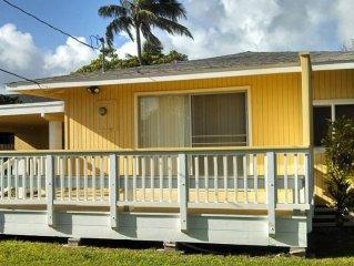 2 Blocks To Beautiful Kailua Beach & Kailua Town!