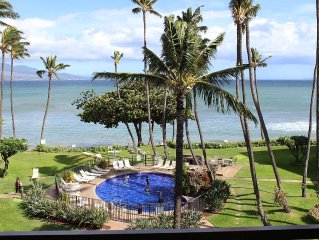 Beachfront Maui condo, remodeled