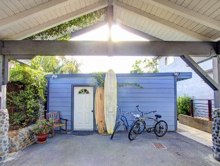 Encinitas Cottage Retreat/New Winter Rate! Walk to Swami's..