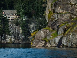 Privacy on the Lake! Boat launch, expansive views, and new HOT TUB!