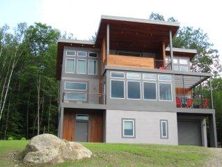 Soho Meets The Adirondacks- Modern Home- Hot Tub