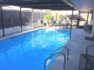 Private Pool Home / Minutes from the Gulf  / 3 Bed / 2 Bath / Sleeps 8