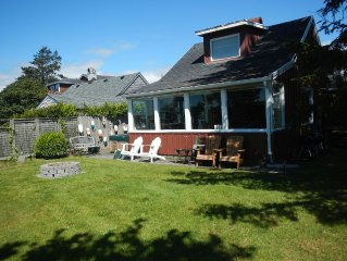 Seaside Oregon Vacation Rental — Cabin on the River - Short Walk to the Beach